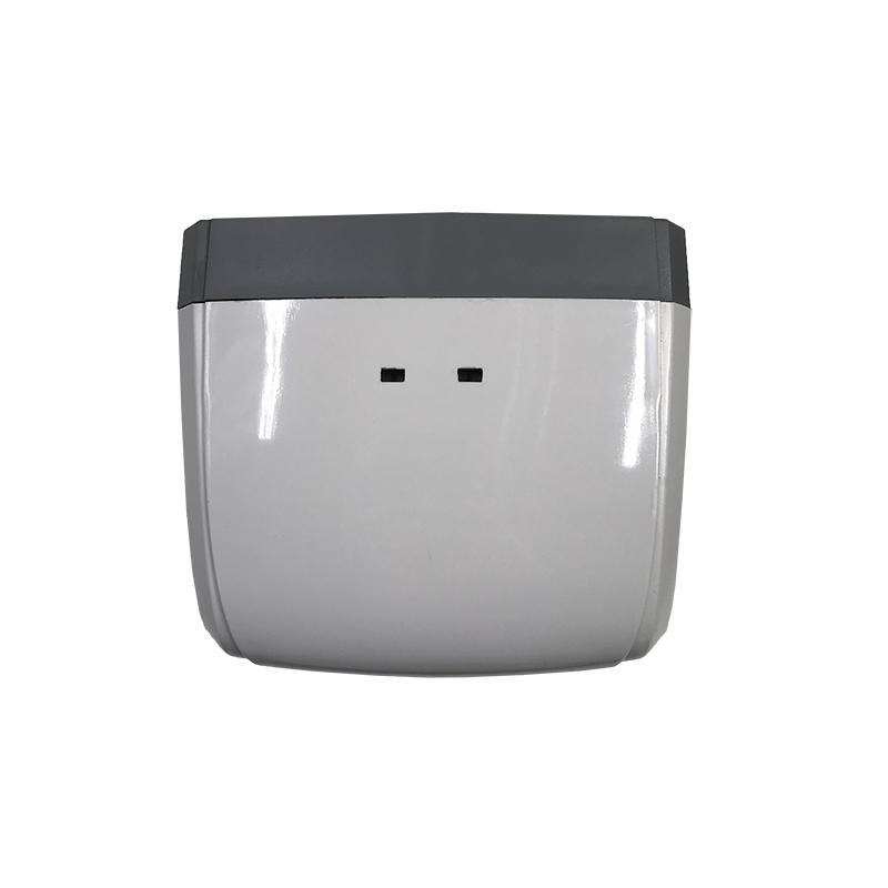 Hygiene PRO SM automatischer Desinfektionsmittelspender mit Infrarot Sensor zur berührungslosen Ausgabe des Desinfektionsmittels, erhältlich mit Spraypumpe und Tropfpumpe, Ansicht von oben