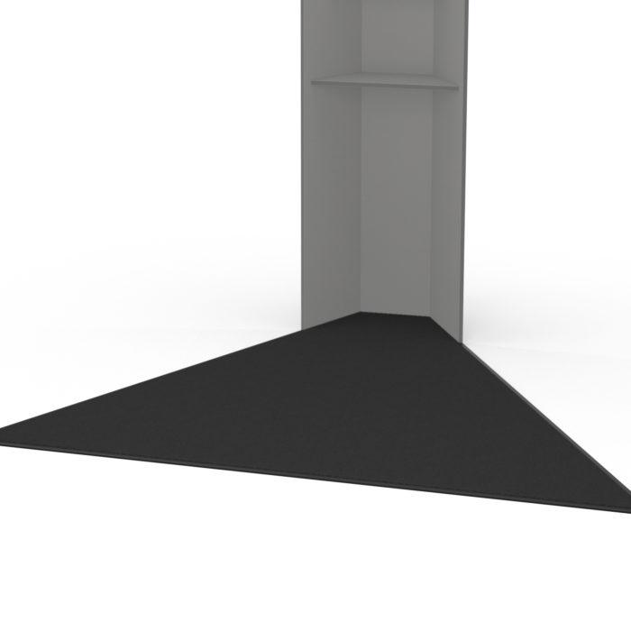 hygn.me Station 1 Safezone, Teppich zur Markierung des Bereichs in dem Abstand gehalten werden soll